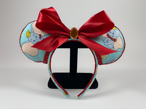 Hand-Crafted Dumbo Themed Mouse Ears Headband
