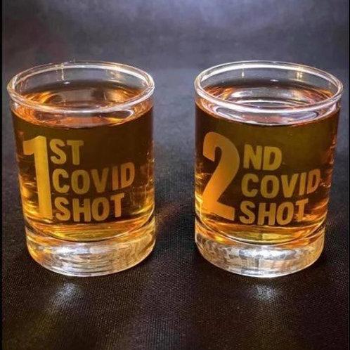 """Engraved """"Shot"""" Glasses - Set"""