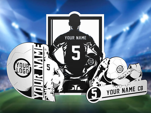 Stadium Series Personalized Sign - Soccer