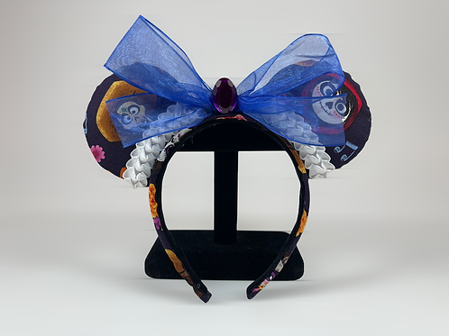 Hand-Crafted Coco Themed Mouse Ears Headband