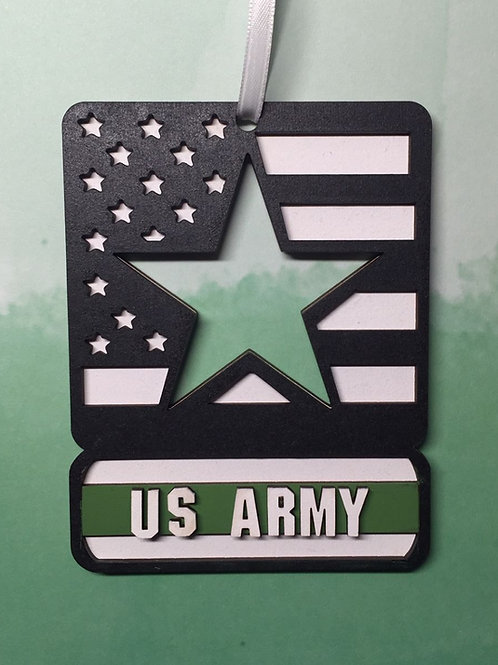 Military Branch Christmas Ornaments