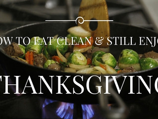 How To Eat Clean and Still Enjoy Thanksgiving