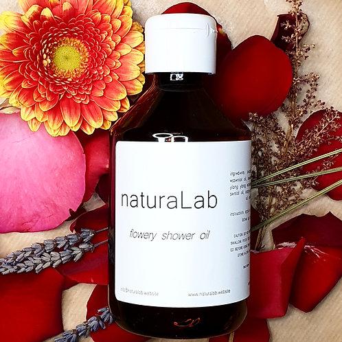 flowery shower oil