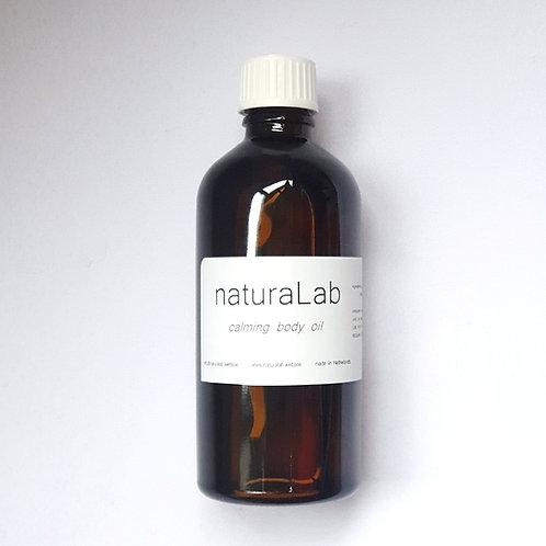 calming body oil