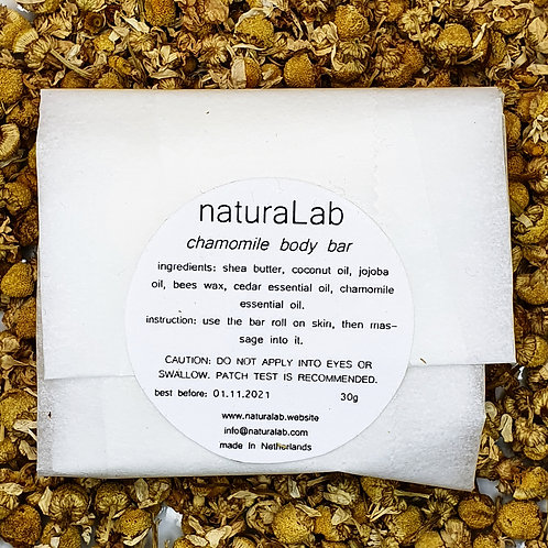 chamomile body bar