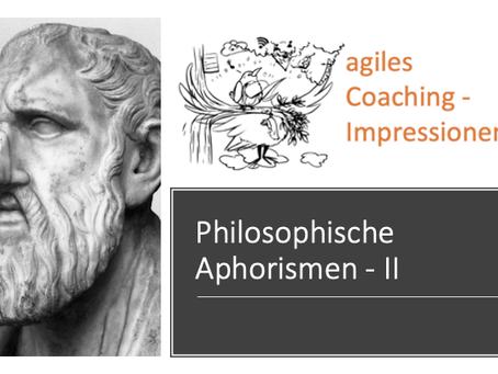 """Was die Stoiker zum Thema """"agiles Handeln"""" sagen würden"""