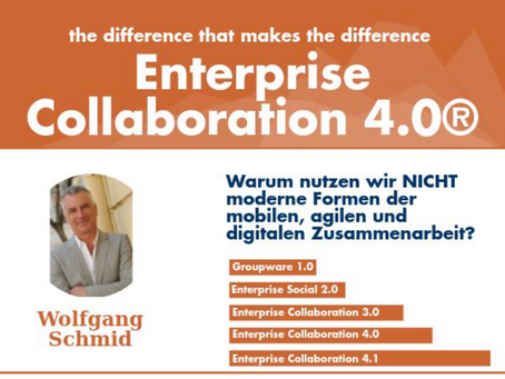 Was ist Enterprise Collaboration 4.0