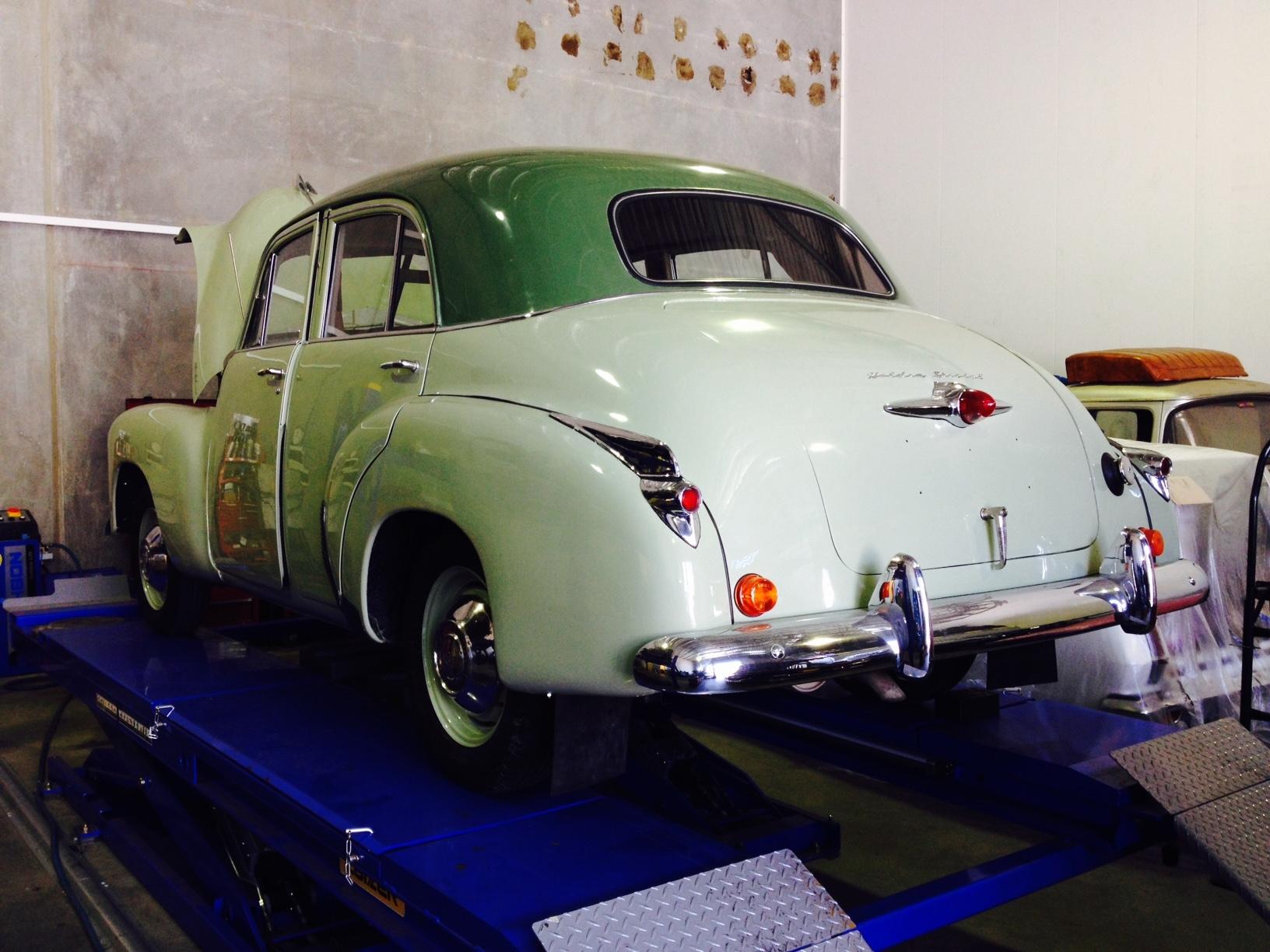 Classic Car Restoration Holden