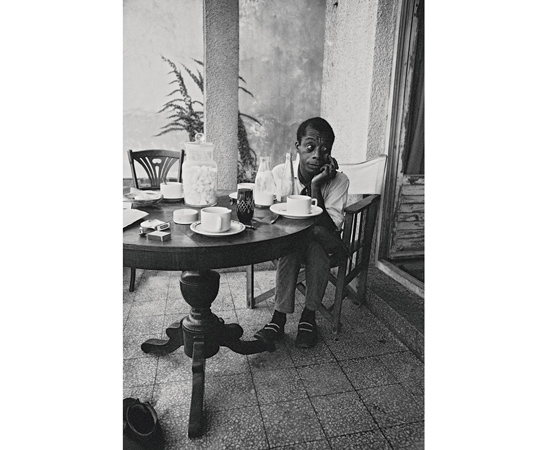 James Baldwin'in dalgın bir anı