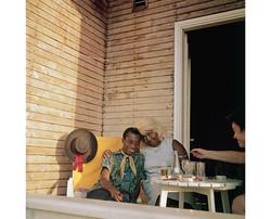 Baldwin şarkıcı Beatrice Reading ile