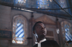 James Baldwin Sultanahmet Camii'nde.