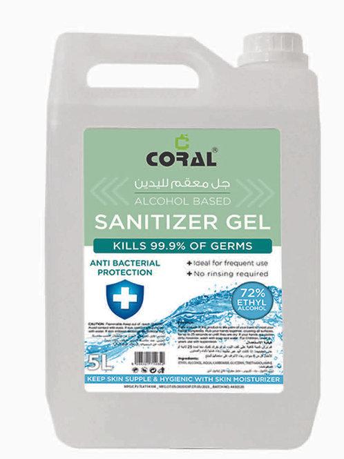 CORAL SANITIZER GEL - 5LTR