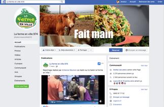 Création de contenus et Modération d'un Facebook pour le Salon Ferme en Ville