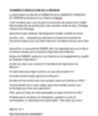 10 interviews d'exposants integrés au Dossier de Presse Salon Ferme en Ville