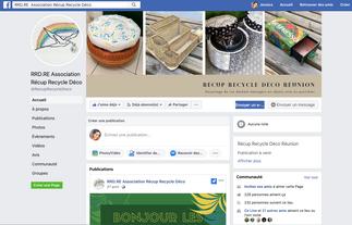 Création de contenus et Modération pour le Facebook de Récup Recycle Déco