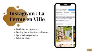 Indicateurs de Performance Instagram Ferme en Ville