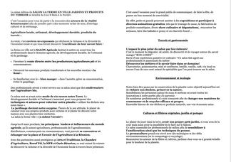 Introduction dossier de presse Ferme en Ville
