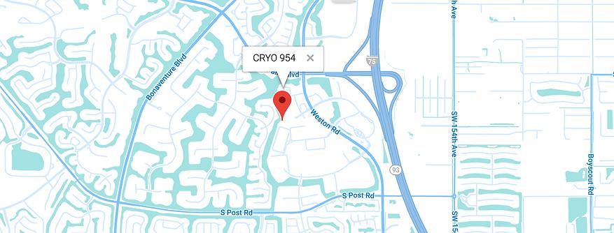 CRYO 954 location