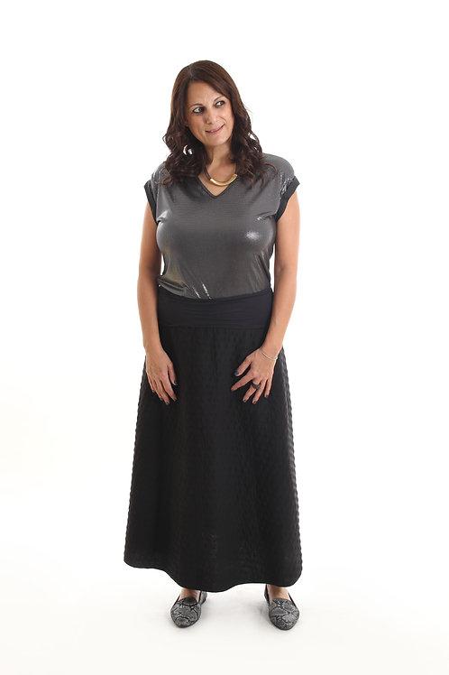 חצאית ג'יין שחורה