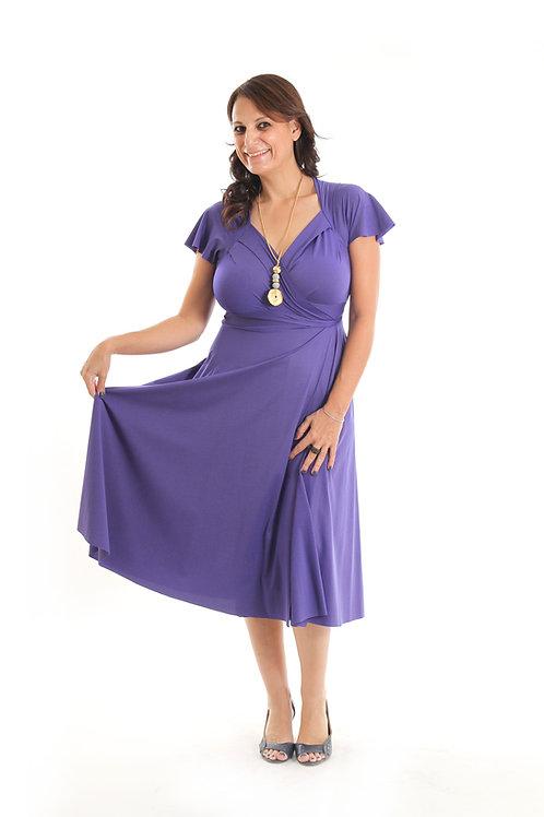 שמלת אנג'י כחולה