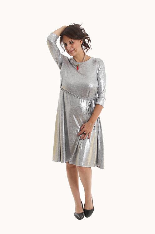 שמלת רנה כסף