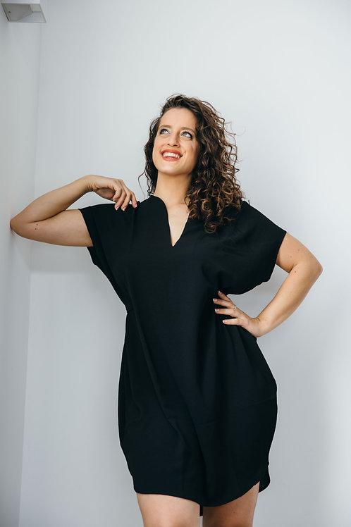 שמלת שרוך שחור