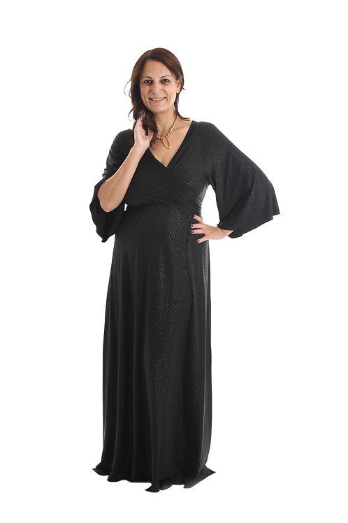 שמלת ג'סיקה שחור מנצנץ