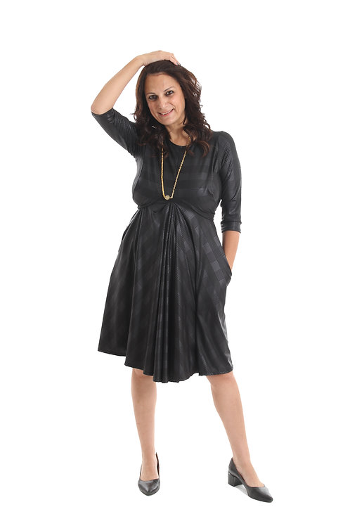 שמלת ריקי שחור