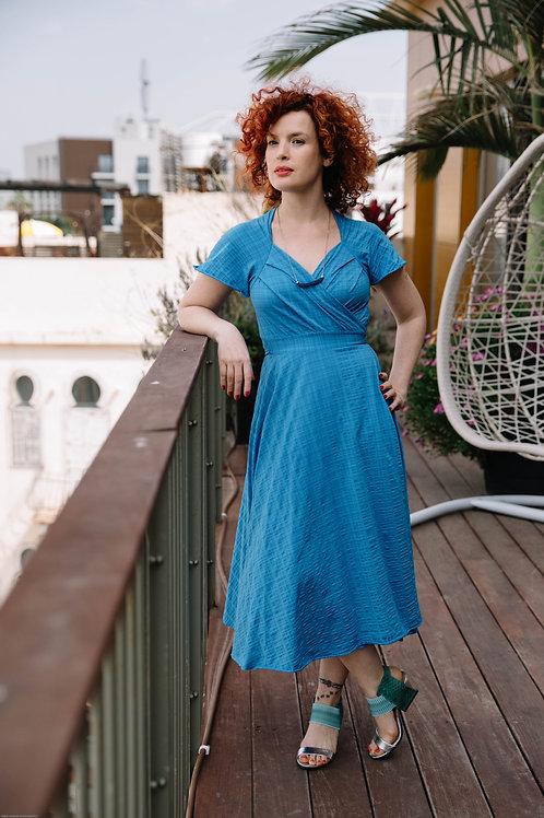 שמלת אנג'י טורקיז