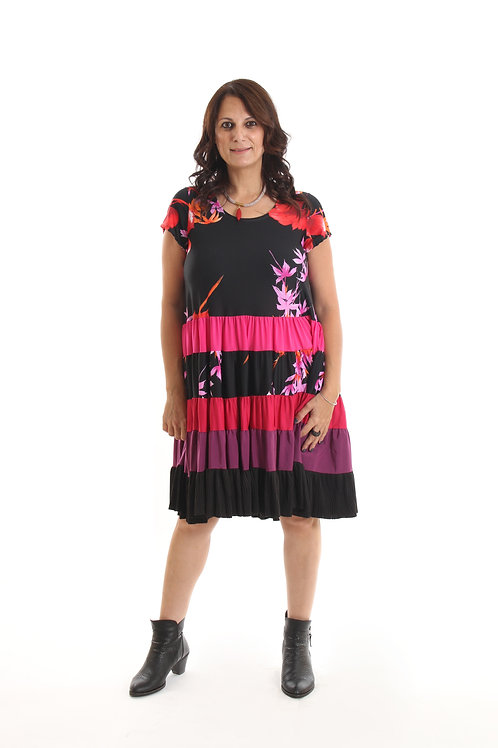 שמלת ניקול בורדו
