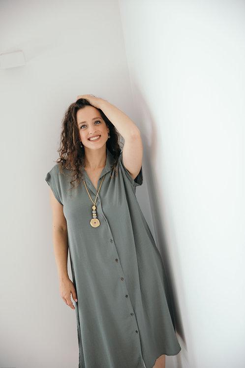 שמלת אמלי חאקי