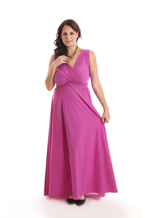 שמלת פרנצסקה סגול