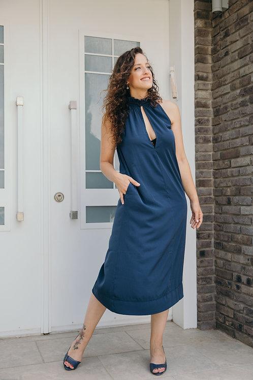 שמלת אנה כחול