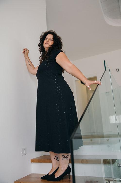 שמלת סימפוניה  שחור PS