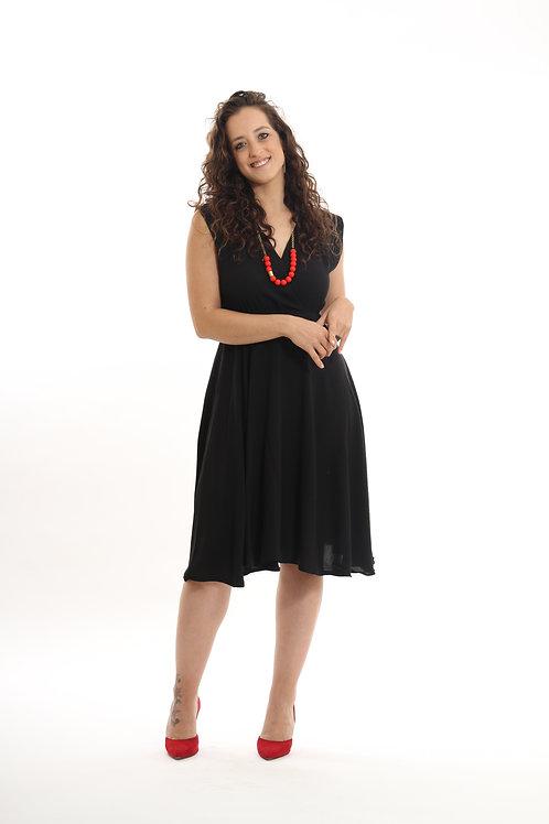 שמלת אלכסנדרה שחור