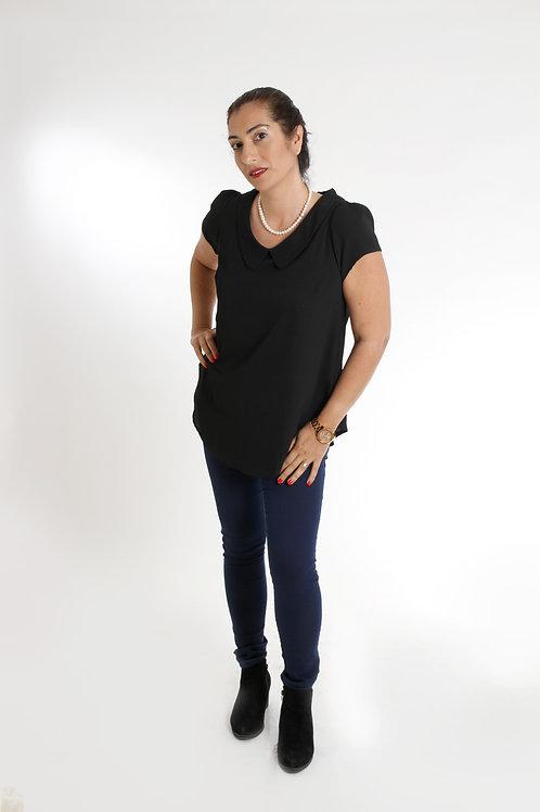 חולצת מעיין שחור