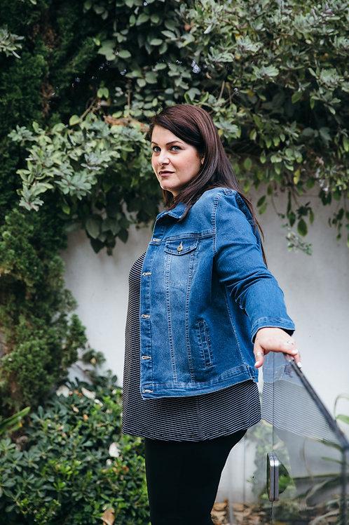 ג'קט ג'ינס כחול PS