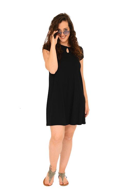 שמלת רונה שחור