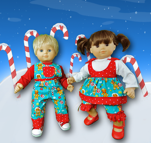 Gingerbread Twin Set
