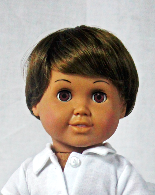 Doll Mall Buddy: Fair Skin, Brown Eyes
