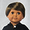 Thumbnail: Doll Mall Buddy: Brown Eyes, Medium Skin