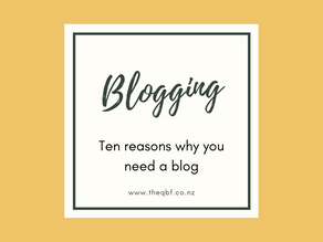 Ten reasons why you need a blog
