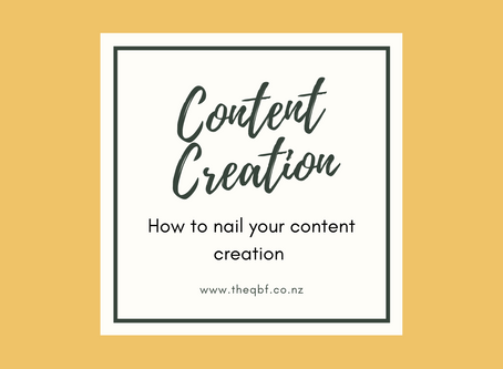 How to nail your content creation