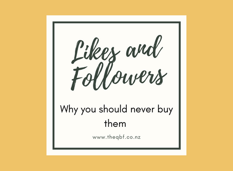 Why you should never buy likes or followers