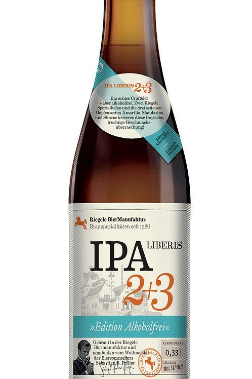 RIEGELE IPA LIBERIS 2+3 SANS ALCOOL 33cl