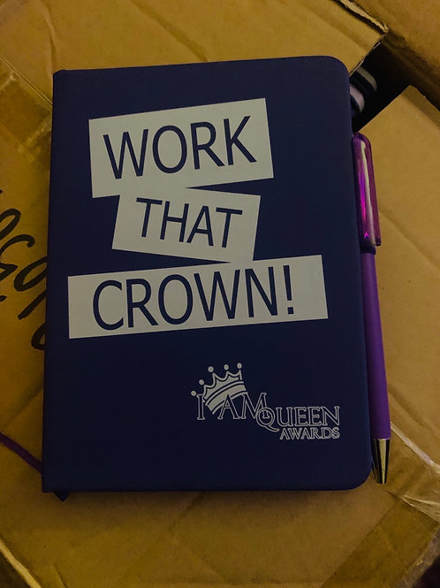 I am Queen awards notebook