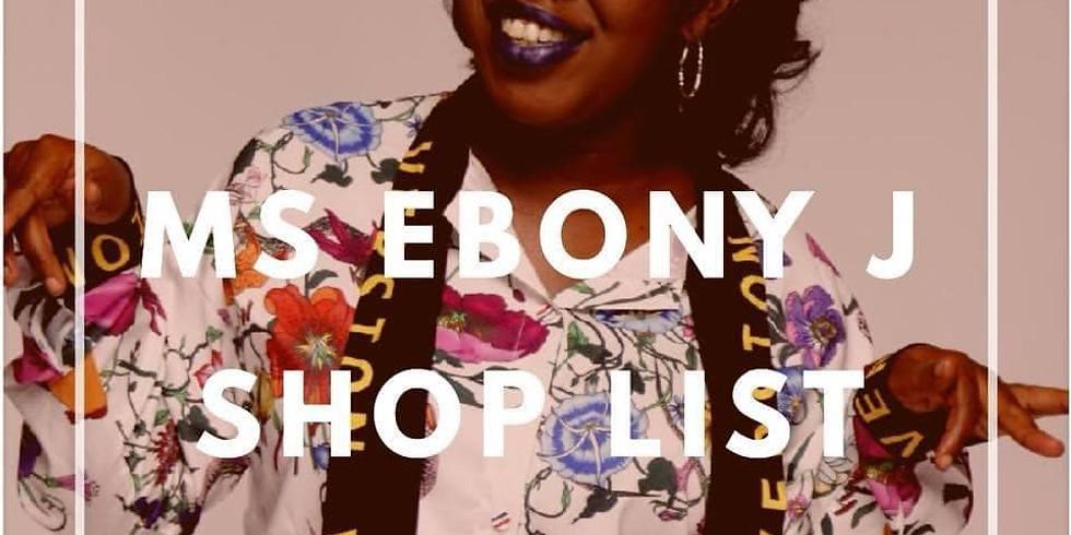 Ms. Ebony J Holiday Shop List