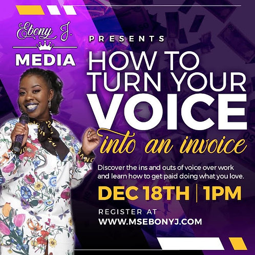 Turn Your Voice To An Invoice