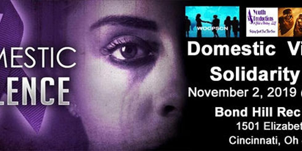 Domestic Violence Solidarity Walk