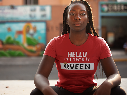 Hello, My Name is Queen T-Shirt